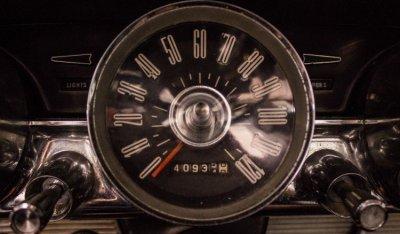 Ford Thunderbird 1962 speedometer