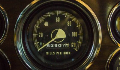 Studebaker Gran Turismo Hawk 1963 speedometer