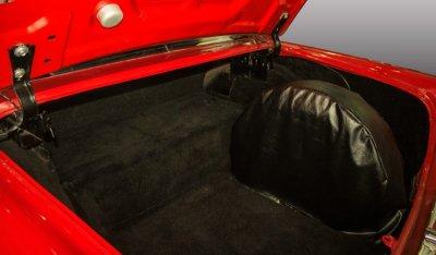 Oldsmobile 88 1956 trunk