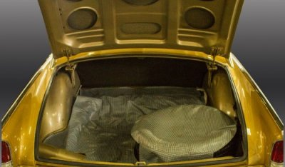 Studebaker Gran Turismo Hawk 1963 trunk