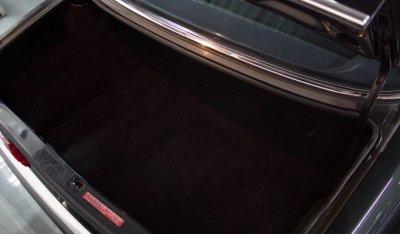 Mercedes Benz SEC560 1991 trunk