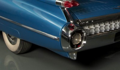 Cadillac De Ville 1959 rear wheel