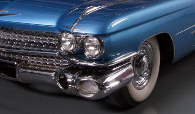 Cadillac De Ville 1959 front wheel
