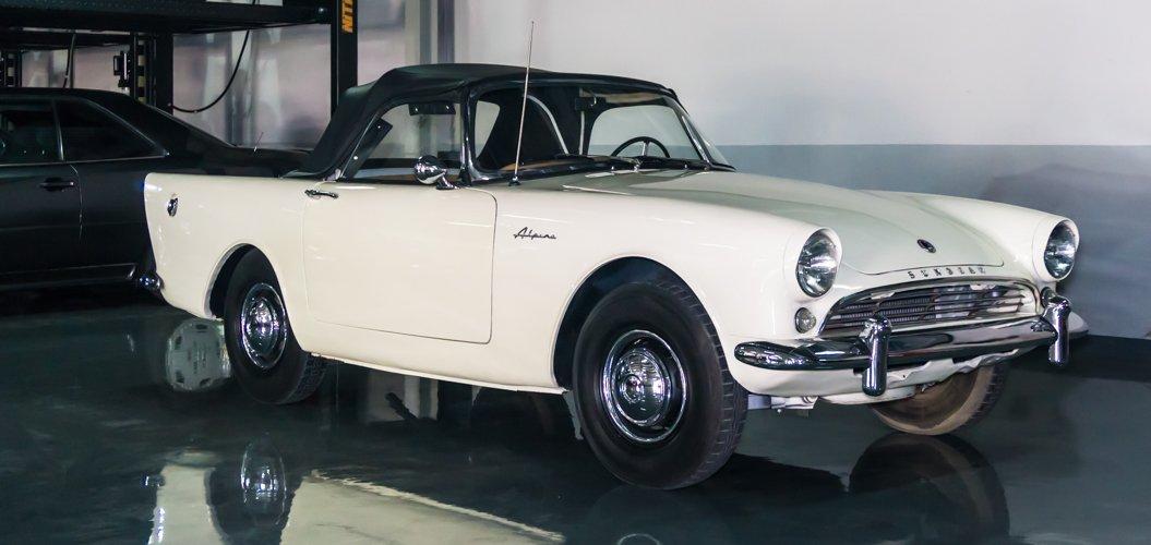 Sunbeam Alpine 1962 Classic Cars In Dubai Uae