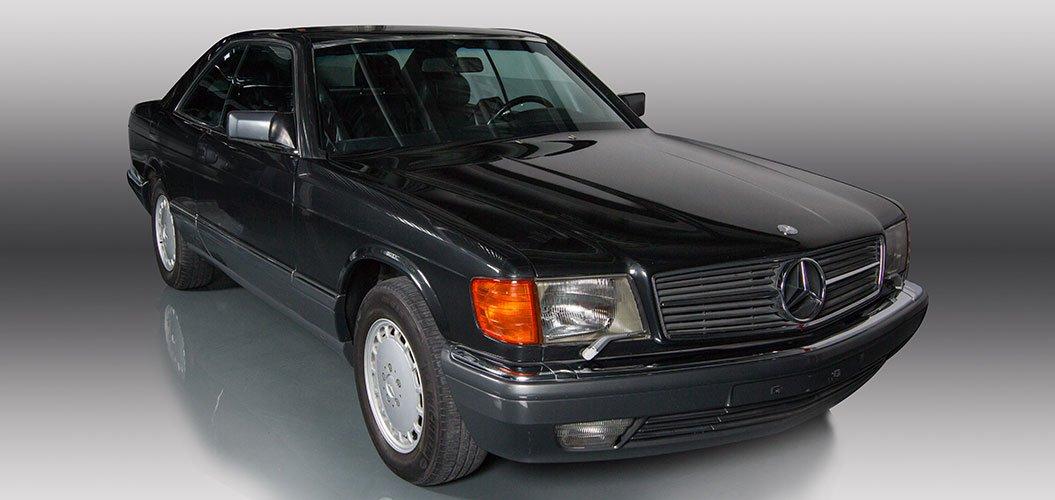 Mercedes Benz SEC560 1991