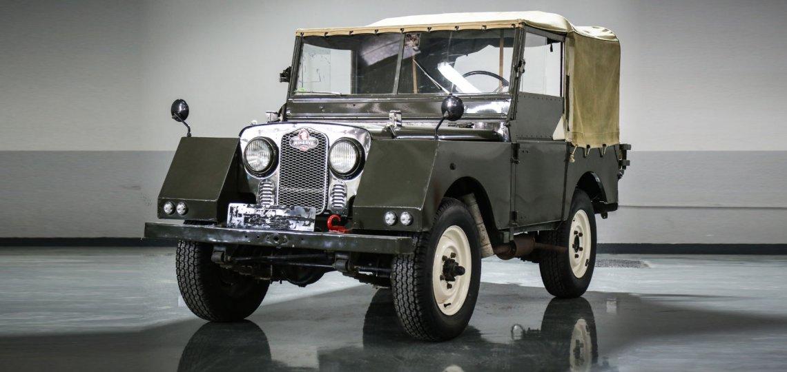 Land Rover Defender Minerva 1952