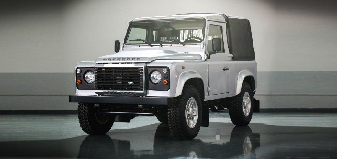 Land Rover Defender single cab 2016