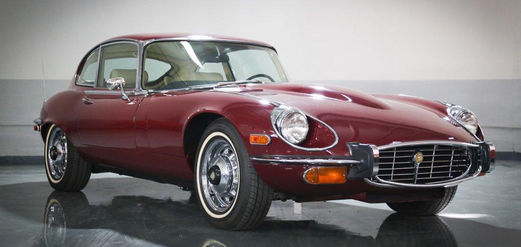 Jaguar E-Type 1972 | Classic Cars in Dubai UAE